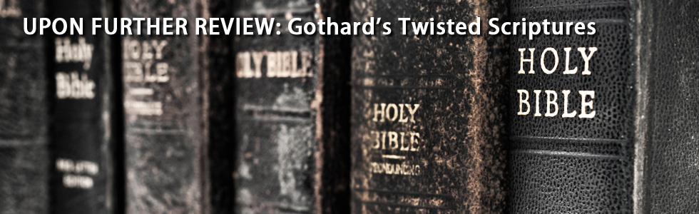 Articles about how Bill Gothard mishandles the Bible to support his legalistic viewpoint.