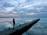 Woman on Dock at Dusk MP900438647 - web